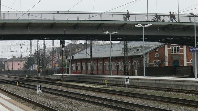 Regensburg - Bahnhofsgelände