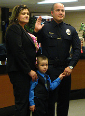 Officer Matthew Gomez and family (1721)