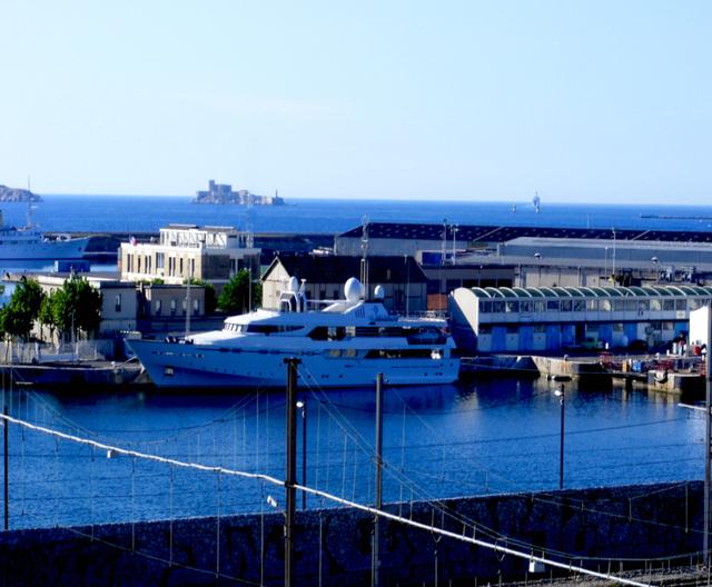 Port autonome et Château d'If