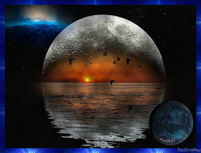 La lune pleure