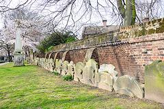 Grabsteinmauer