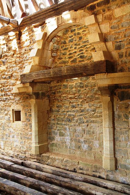 La cheminée de la grande salle - Guédelon