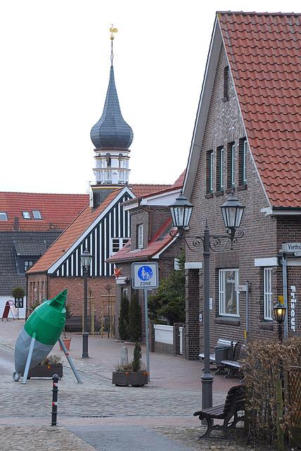 Hooksiel altes Rathaus (Künstlerhaus)