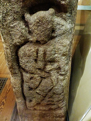 vedast saxon cross, norwich museum