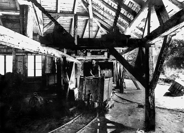 1917 - Grandfather, Bergwerk Kalkgrub