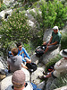 Lunch stop above Maidenhair Falls in Anza-Borrego (1652)