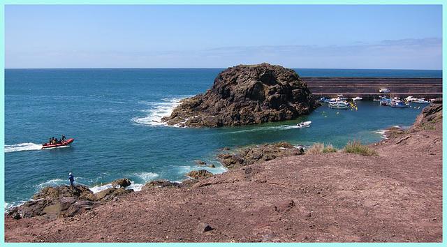 der Hafen von El Cotillo
