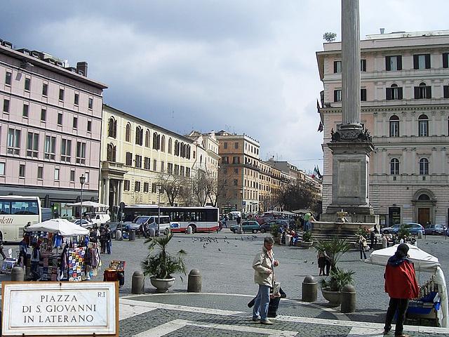 Piazza di S. Giovanni in Laterani