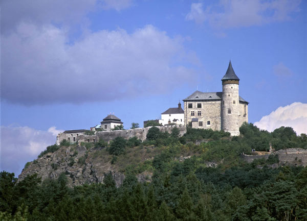 mezepoka burgo Kunětická hora apud Pardubice
