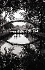 Paris , canal Saint-Martin