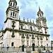 Catedral de Jaén el viernes santo, sin procesiones.