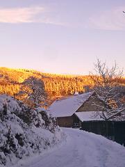 Soir d'hiver chez moi