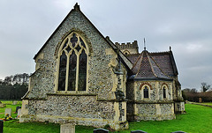 brettenham church, norfolk