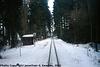 JHMD Linka 228 in the Snow, Picture 3, Edited Version, Sudkuv Dul, Kraj Vysocina, Bohemia (CZ), 2011