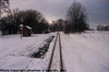 JHMD Linka 228 in the Snow, Picture 8, Edited Version, Krec, Kraj Vysocina, Bohemia (CZ), 2011