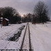 JHMD Linka 228 in the Snow, Picture 8, Edited Version, Krec, Kraj Vysocina, Bohemia (CZ), 2011