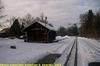 JHMD Linka 228 in the Snow, Picture 14, Edited Version, Cernovice u Tabora, Kraj Vysocina, Bohemia (CZ), 2011