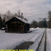 JHMD Linka 228 in the Snow, Picture 14, Edited Version, Cernovice u Tabora, Kraj Vysocina, Bohemia (CZ), 2011