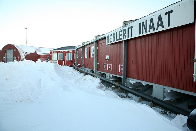 Nerlerit Inaat Airport terminal building, Greenland