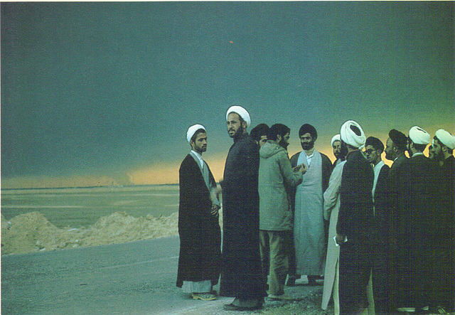 Manoocher 1984-Sipa Press - Mullahs at Iran-Irak front