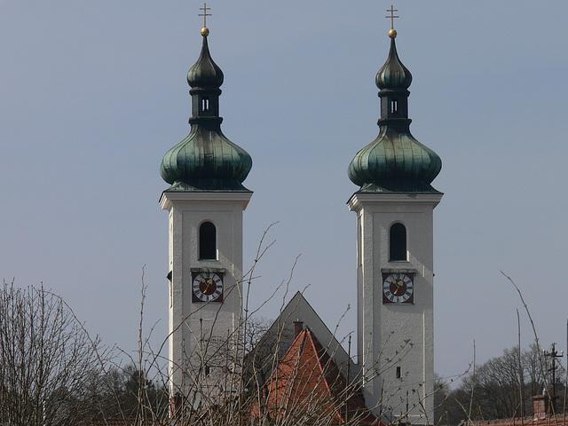 Kirchtürme von Tutzing
