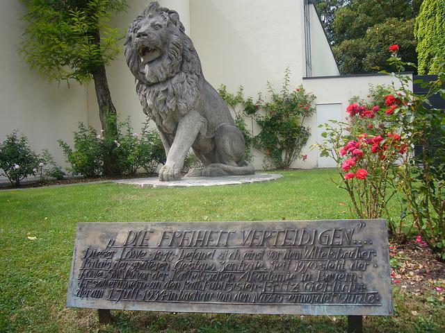 Gedenktafel für Fritz Gerlich - Katholische Akademie in Bayern