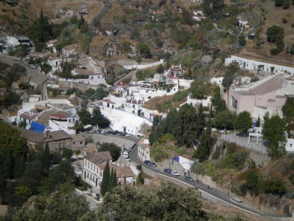 El barrio del Sacromonte