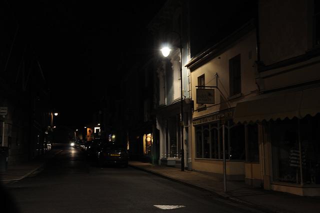 Nachts in Ashburton