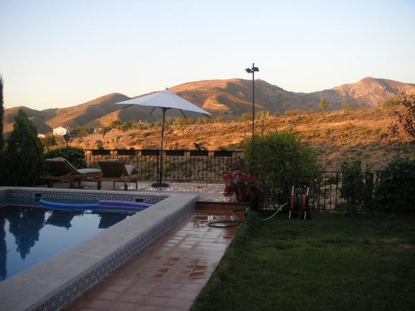 Vistas desde mi jardin en Granada