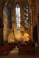 Chef d'oeuvre de Miquel Barceló à voir absolument dans la cathédrale à Palma de Mallorca