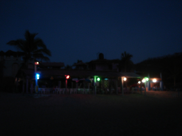 Zipolite, Oaxaca - Mexique / 24 janvier 2011.