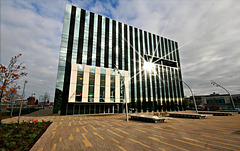 Corby Cube  (side view)