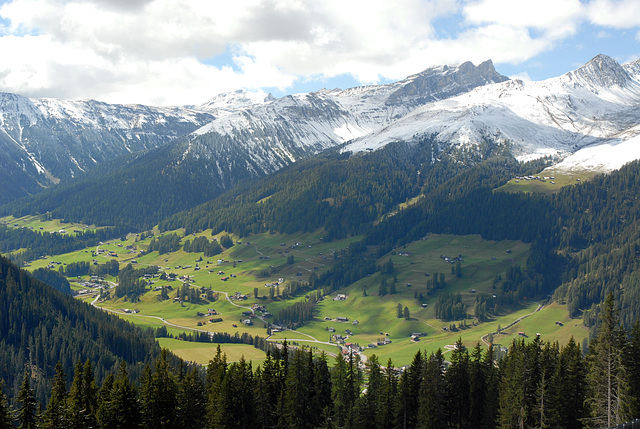 Les Grisons (Suisse orientale)...
