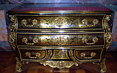 Antique  furniture at Palace of Versailles