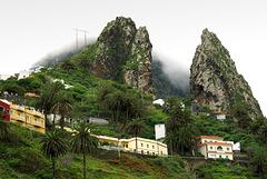 Die Roques de San Pedro bei Hermigua. ©UdoSm