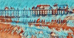 Cromer Pier, Van Gogh style :-)