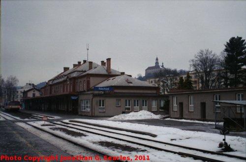 Nadrazi Nachod, Edited Version, Nachod, Kralovehradecky kraj, Bohemia (CZ), 2011