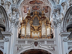 P6064503ac Passau World's Largest Cathedral Grand Organ