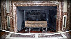 Fireplace in the Palace of Versailles