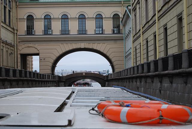 St Pétersbourg ...Sur la Neva