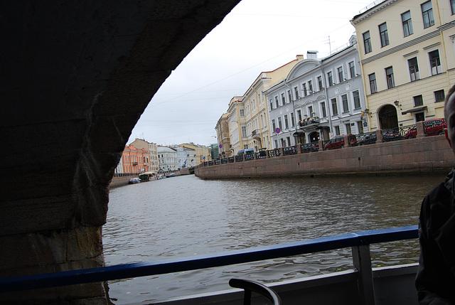 St Pétersbourg  La Neva