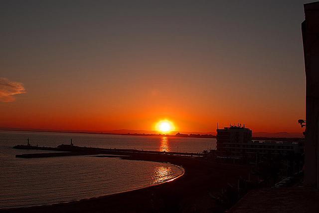 20110529 4072RAfw Sonnenuntergang [Le Grau du Roi]