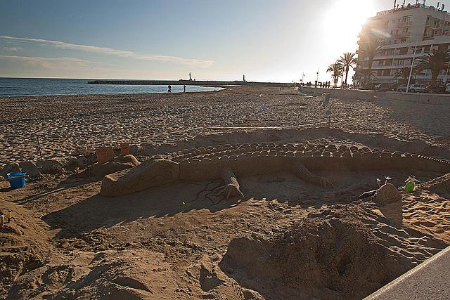 20110529 4070RWfw Sandskulptur [Le Grau du Roi]