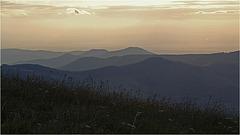 au sommet du Honeck :  au petit jour