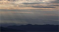 au sommet du Honeck : 1364m