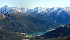 Les Alpes grisonnes...