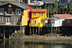 Palafitos Chiloe, Chilean Patagonia