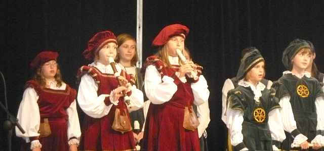 fluta infana ensemblo el Český Krumlov
