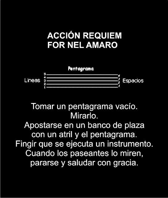 Requiem for Nel Amaro