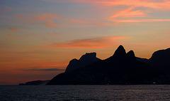 Sunset at Arpoador, Ipanema, Rio de Janeiro